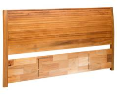 Solaris King Timber Slatted Panel Headboard