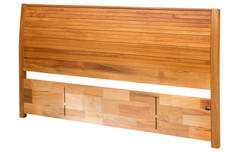 Solaris Super King Timber Slatted Panel Headboard