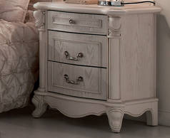 Chateau 3 Drawer Bedside Cabinet