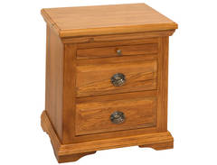 River Crossings 3Drw Bedside Cabinet