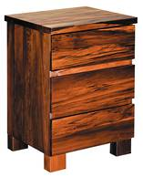 Riverwood 3 Drawer Bedside