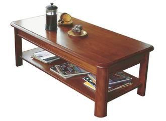Classic Kauri Coffee Table with Shelf