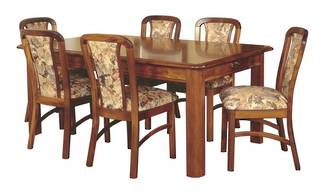 Classic Kauri Fixed Top Dining Table