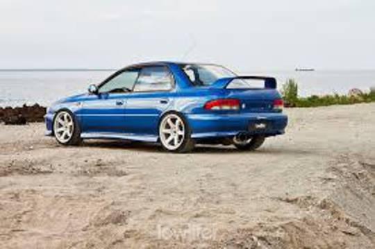 SUBARU WRX GC 1992-2000