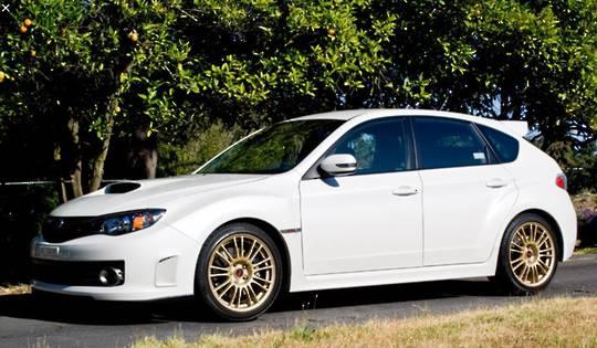 WRX 2007-2012 GH Hatchback