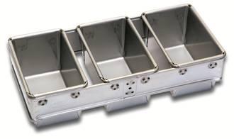 340gm Bread Pan (Set of 3) (400x187x102mm deep) - UNAVAILABLE
