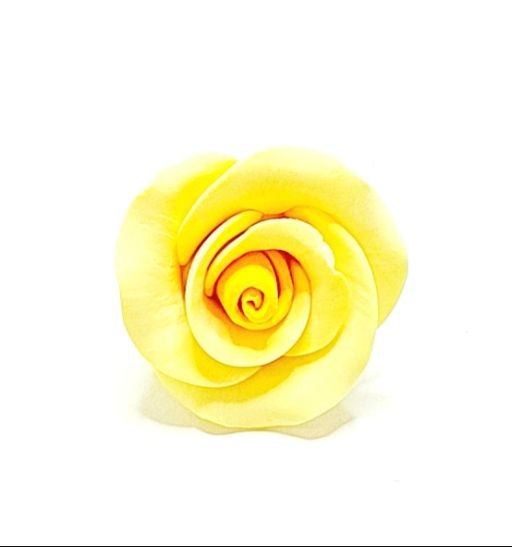 Icing Yellow Roses 30mm, box of 52