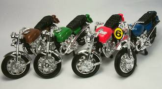 Motorcycles Asst 90mm