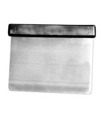 Flexible  Metal Scraper 115 x 85mm (black handle)