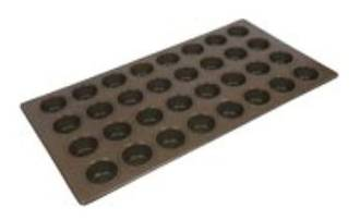 Regular Muffin Tray, 32 Cup 406x760x35mm