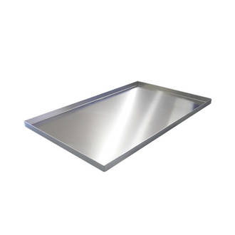 Aluminium Baking Tray, Plain 4 sided - 450x300x40mm (1.6mm) 1 ONLY