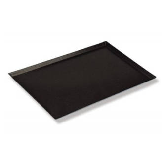 Aluminium Baking Tray, Plain 4 sided  Teflon- 740x460x25mm (29x18) - 39 LEFT
