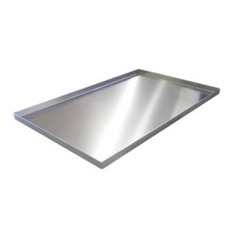 Aluminium Baking Tray, Plain 4 sided  460x360x25mm (29x18) - 2 LEFT