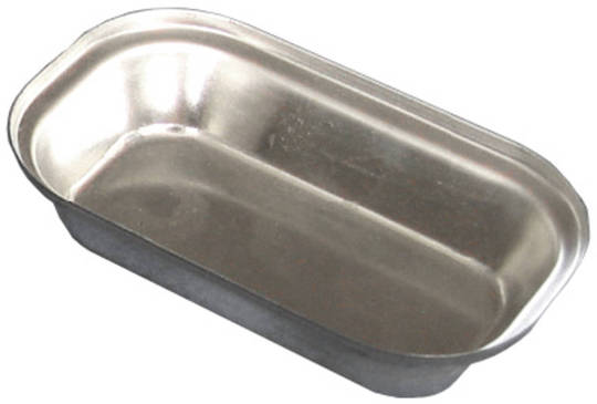 Palletized Savoury Pie Tins, (30) Oblong Savoury 70x60x6mm, Tray size 460x360mm