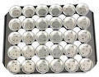 Palletized Savoury Pie Tins, (30) Deep 68x23mm, Tray size 460x360mm