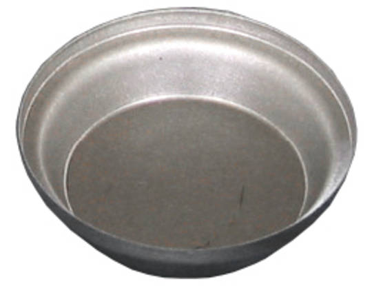 Palletized Savoury Pie Tins, (60) Large Shallow 72x20mm, Tray size 720x460mm