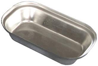 Palletized Savoury Pie Tins, (60) Oblong 70x 60x26mm, Tray size 720x415mm