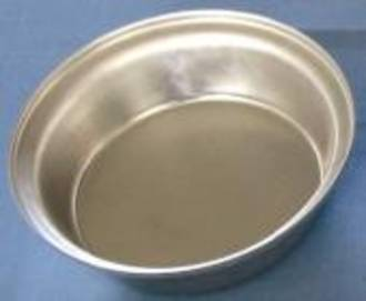 Single Aluminium Pie Tin, Round 100x28mm