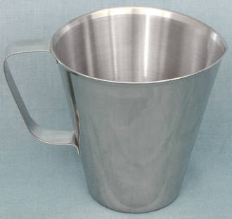 Stainless Steel  Graduated 1 litre jug