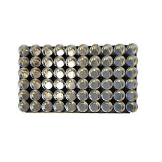 Palletized Savoury Pie Tins, (60) Large Deep 72x26mm, Tray size 720x460mm