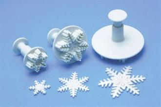 Snowflake Small Plunger Cutter 25mm