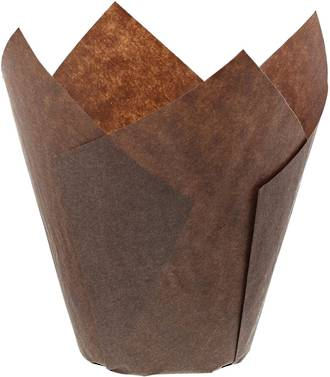Brown Folded Cups 175x60mm (200)