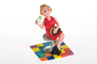 Claydough, Party Girl (70mm)