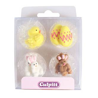 Royal Icing Chick, Egg and Rabbit  (12)