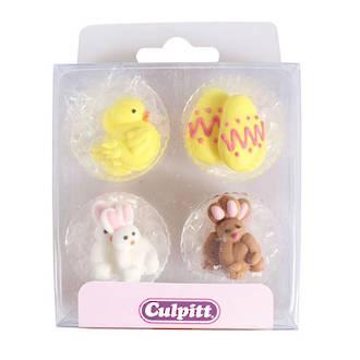 Royal Icing Chick, Egg and Rabbit  (12)