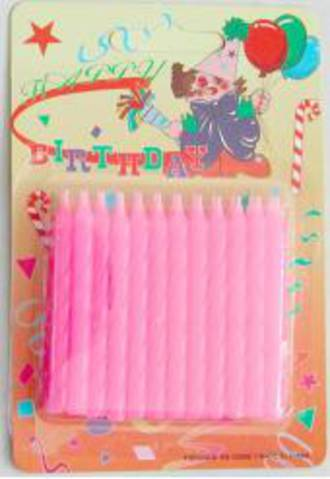 Candle Twist Light Pink (24)