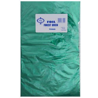 Confectionary Foil - Forest Green 10 Pack