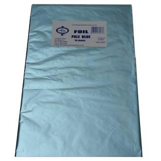 Confectionary Foil - Pale Blue 10 Pack