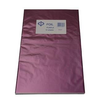 Confectionary Foil - Purple 10 Pack