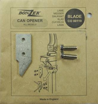 Bonzer Can Opener Blade (replacement part for can opener 4107)
