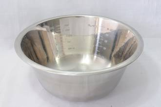 Bowl Stainless Steel, 1.2 litre 190x80mm