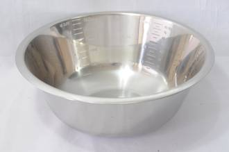 Bowl Stainless Steel, 2.6 litre - 245x100mm