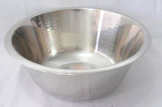 Bowl Stainless Steel, 3.5 litre - 270x110mm