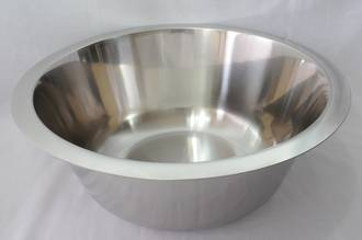 Bowl Stainless Steel, 7 litre - 335x135mm