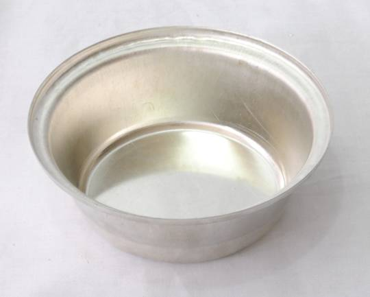 Single Round Pie Tin, Very Deep 113x42mm, Tin Plated