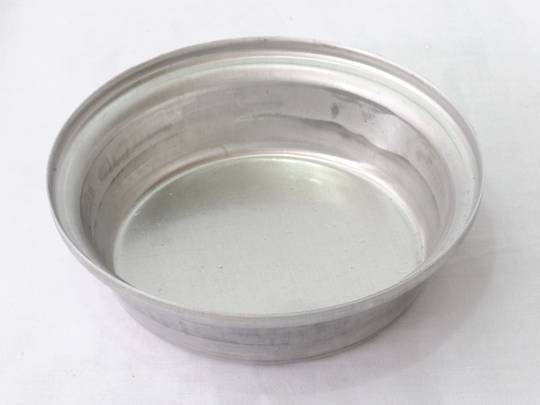 Single Aluminium Pie Tin, Round 113x29mm