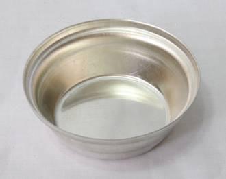 Single Savoury Pie Tin, Deep 68x23mm, Tin Plated