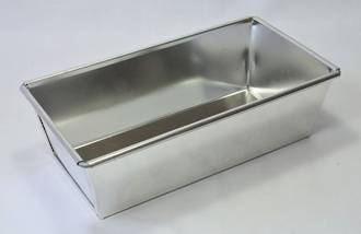 Loaf Tin Wired, Top 190 x 90 x 55mm, Base size: 170x75mm