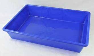 Tote Tray 395x270x78mm Ideal for product holding; coconut, grain etc