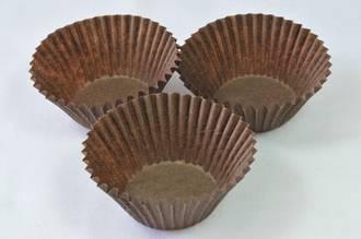 Brown Mini Paper Cups  33x20mm (500)