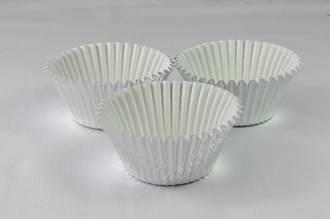 Foil Silver Paper Cups  30x21mm (500)