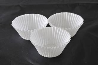 White Paper Cases 55x35mm (500)