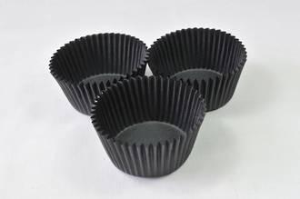 Paper Cases Black 30x23mm (500)