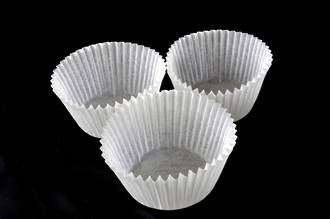 Cupcake Paper Cases Off White 44x30mm (500),