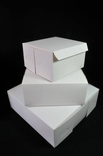 Cake boxes 9 x 9 x 4 inch, 229 x 229 x 102mm, Bundles of 100