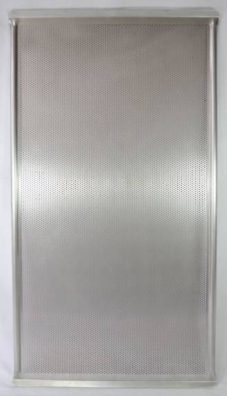Perforated Aluminium Baking Tray, 735x406mmx5mm